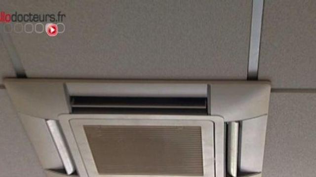 Un rhume en été... et si c'était la climatisation ?