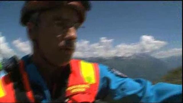 In vivo : Sauvetage en montagne
