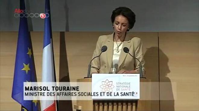 Marisol Touraine expose ses engagements pour la généralisation du tiers payant d'ici à 2017.