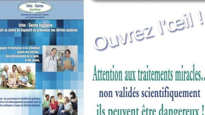Sectes et santé : opération prévention en Aquitaine