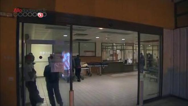 Reportage à l'Hôpital Avicenne de Bobigny au nord de Paris.