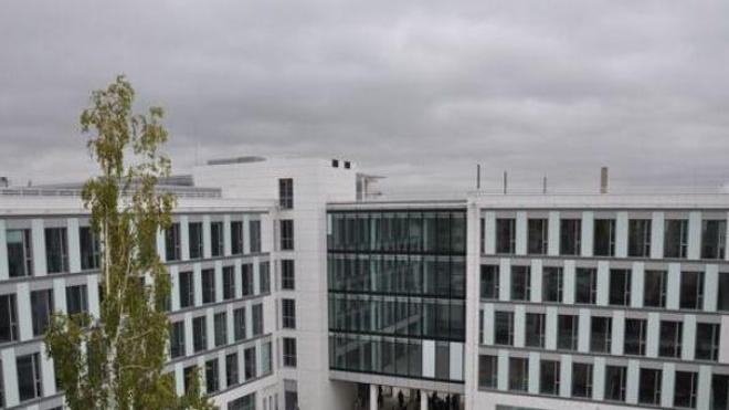 Le siège des laboratoires Servier, à Suresnes