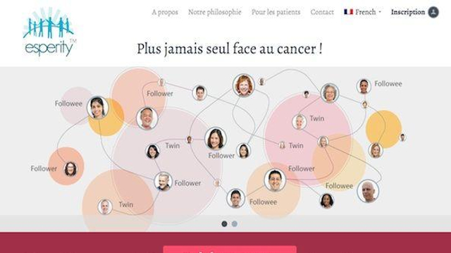 Esperity™ : un réseau social pour les malades du cancer