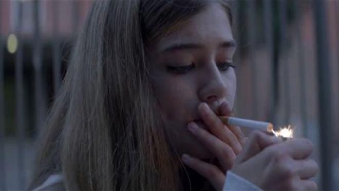 Photo extraite du spot ''Libre'' diffusé par l'Inpes dans le cadre de sa campagne ''Libre ou pas''
