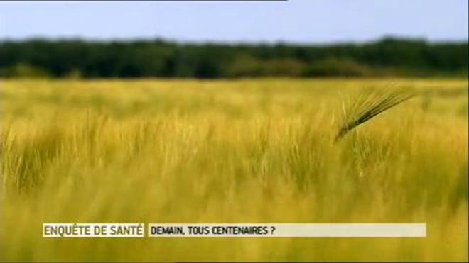 ''Demain, tous centenaires ?'', un documentaire diffusé mardi 22 octobre 2013 sur France 5, avec Robert Marchand, 102 ans.