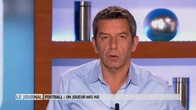 Football : le coup de genou qui met Hugo Lloris KO
