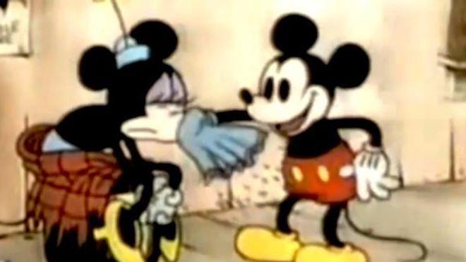 Image extraite du dessin animé ''The Klondike Kid'' (1932) - © Walt Disney productions