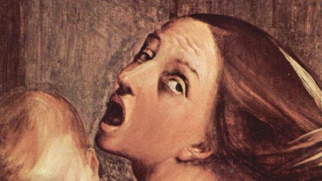 Si la souris a appris qu'un son annonce un châtiment, ce seul son provoque en elle la peur. (Illustration : détail d'une oeuvre de Guido Reni c.1611)