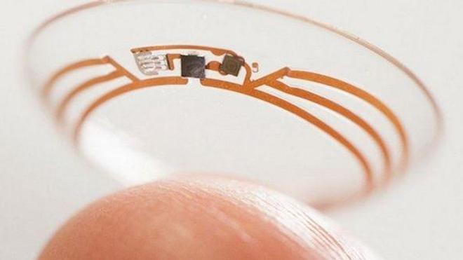 Une lentille de contact pour retrouver la vue © google