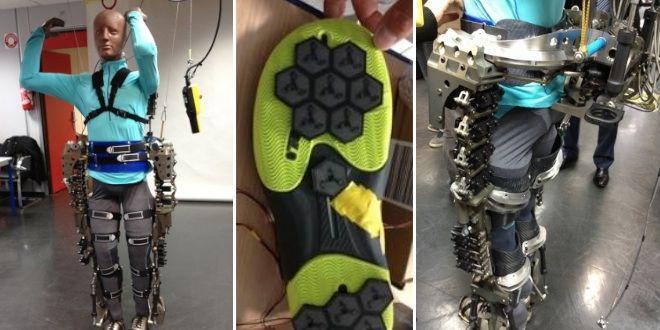 L'exosquelette pour patient paraplégique testé dans le cadre du projet Walk Again (qui avait bénéficié d'une couverture médiatique importante lors du dernier mondial de football) était lui aussi partiellement recouvert de capteurs sensitifs.