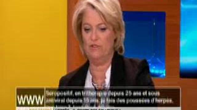 Herpès : quel traitement pour les patients séropositifs ?