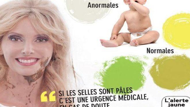 Si les selles de votre bébé sont pâles, c'est une urgence médicale !