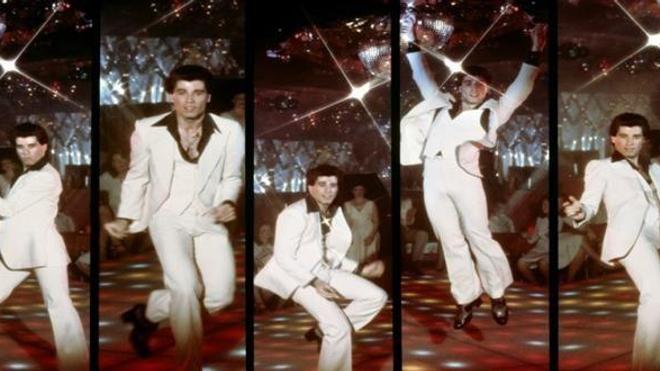 John Travolta dans Saturday Night Fever