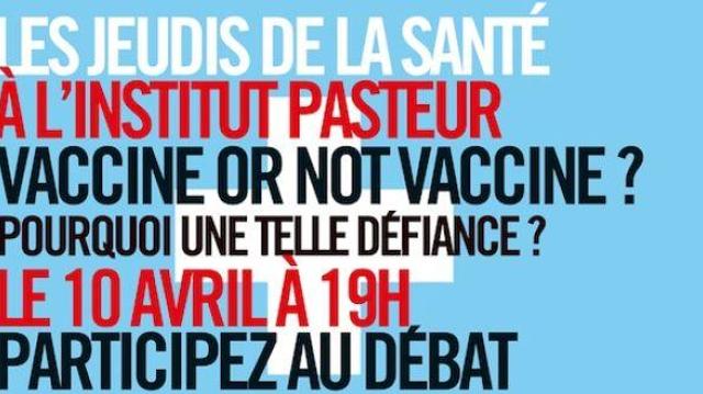 Les jeudis de la santé #2 - ''Vaccine or not vaccine?''