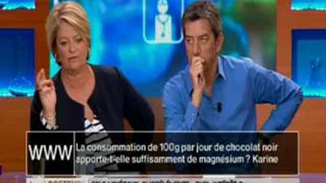 Le chocolat noir apporte-t-il suffisamment de magnésium ?