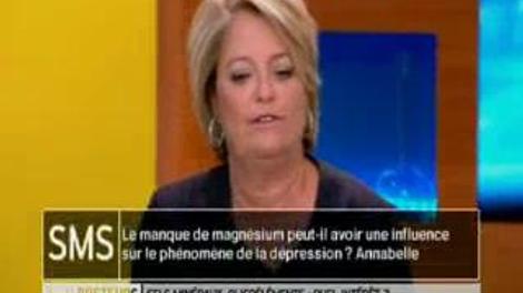 Le manque de magnésium peut-il avoir une influence sur la dépression ?