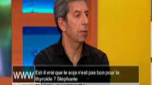Est-il vrai que le soja n'est pas bon pour la thyroïde ?