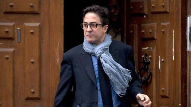 Aquilino Morelle, le 9 mai 2012 à Paris. (Photo Fred Dufour. AFP)