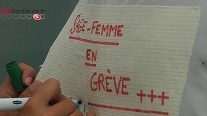 Les sages-femmes sont de nouveau en grève, pour le troisième mois consécutif.
