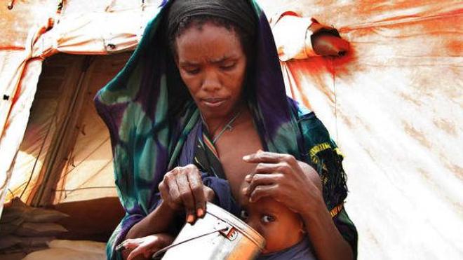 La Somalie : le difficile combat des mamans pour la vie. Source : http://www.msf.ch