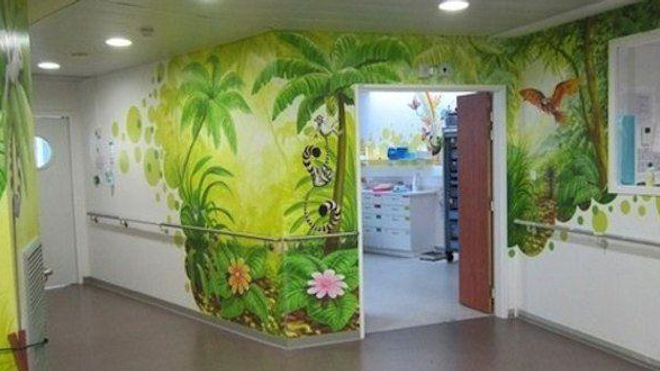 Un service de pédiatrie (image d'illustration).