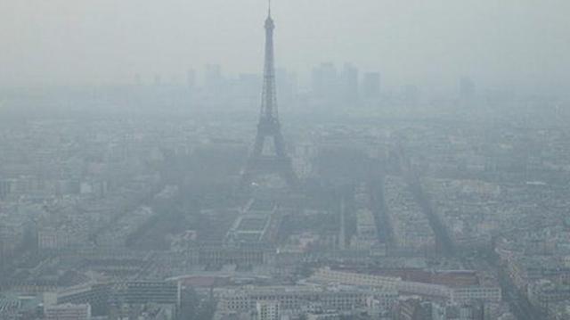 Nouveau pic de pollution à Paris