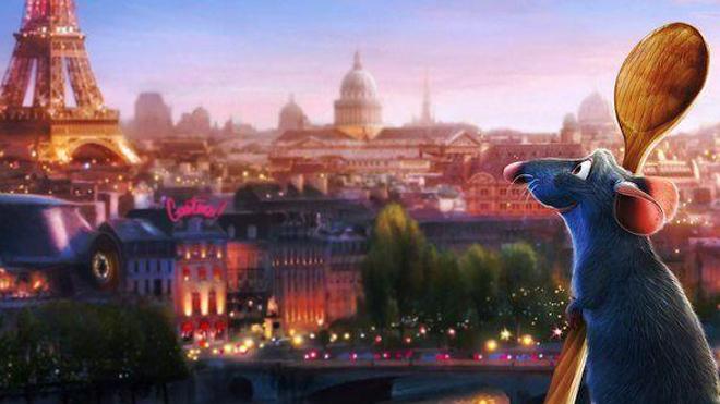 Image extraite du film ''Ratatouille''