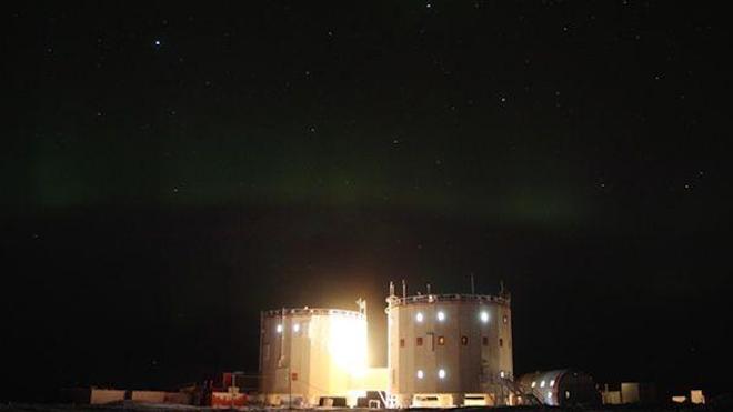 Image de la station internationale polaire Concordia ©ESA/Alex Salam