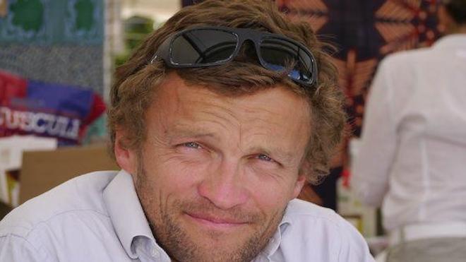 Sylvain Tesson en 2011 à la Comédie du Livre à Montpellier.
