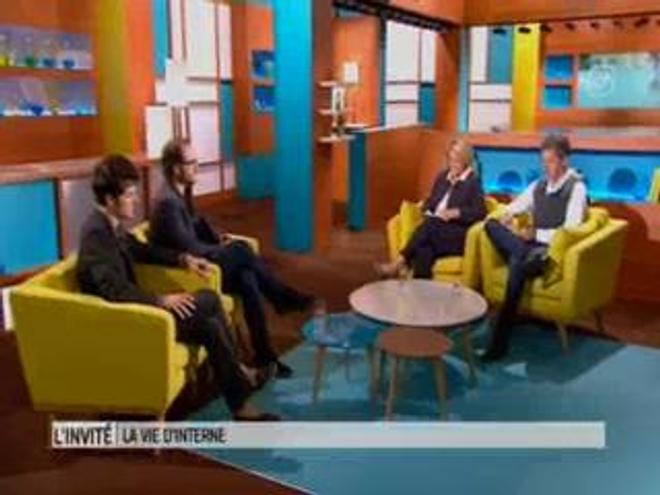 Vidéo : Thomas Lilti et Vincent Lacoste dans ''Le magazine de la santé'' le 2 septembre 2014.