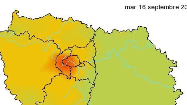 Nouveau pic de pollution aux particules fines en Île-de-France