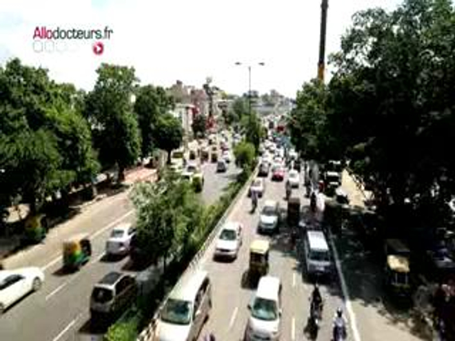 Inde : la pollution atmosphérique de plus en plus meurtrière (Reportage du 26/09/14)