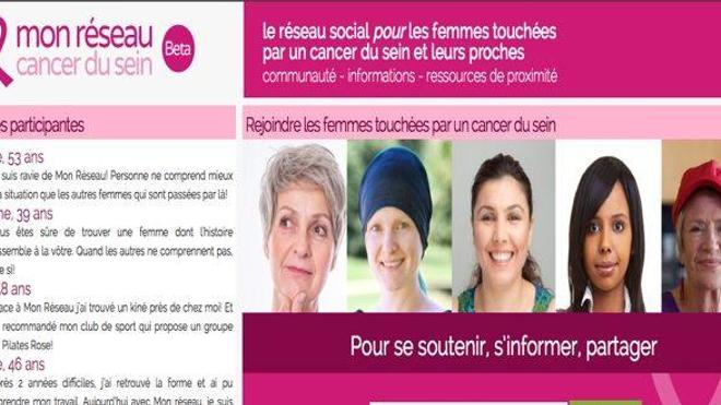 Cancer du sein : un réseau social pour les malades et leurs proches