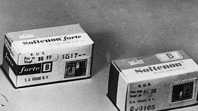 La thalidomide était notamment commercialisée en Espagne sous le nom de Softenon.