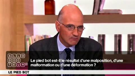 Pied-bot, malformation ou déformation?