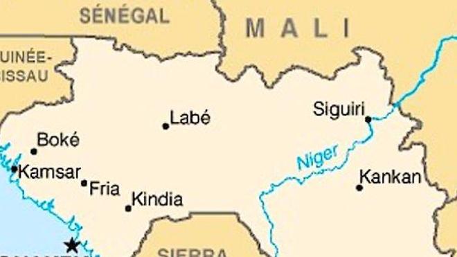 Carte de la Guinée (cc)