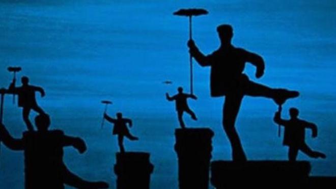 Faut-il sauver les feux de cheminées ? - Illustration : extrait du film ''Mary Poppins'' de Robert Stevenson, 1964 (tous droits réservés © Disney Pictures)