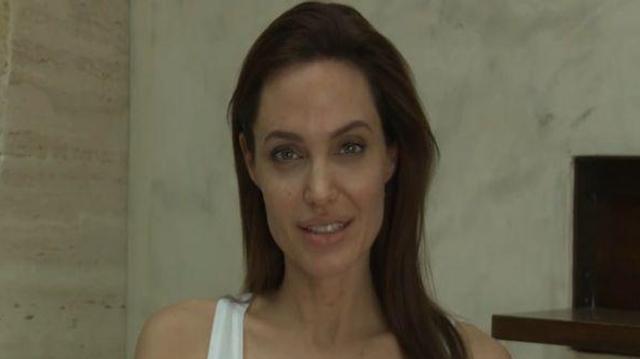 Angelina Jolie n'est pas invincible