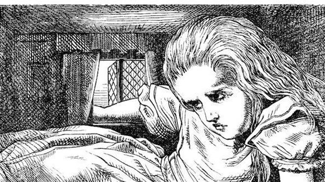 Photo : Wikimedia Commons - Illustration d'origine (1865), par John Tenniel (28 février 1820 – 25 février 1914), du roman de Lewis Carroll, Alice au pays des merveilles.