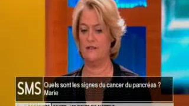 Quels sont les signes du cancer du pancréas ?