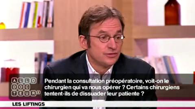 Lifting : convaincre ou dissuader?