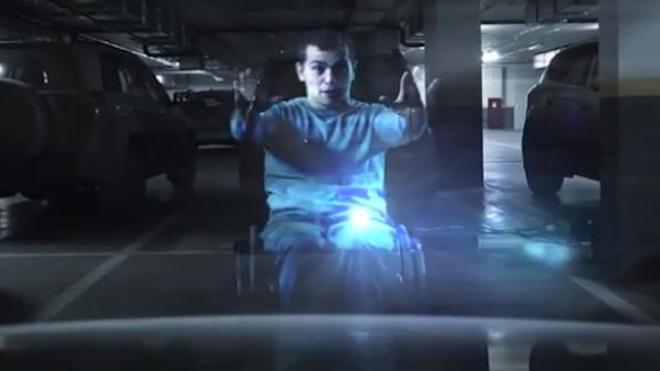 Une idée de génie pour réserver les stationnements aux handicapés