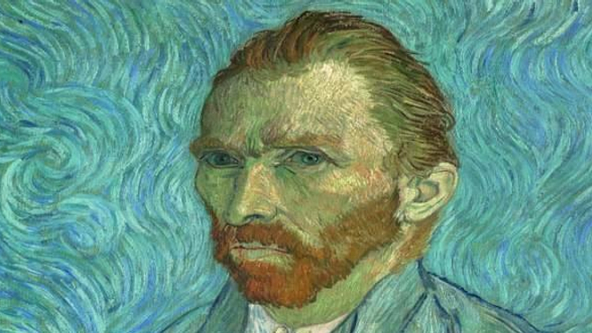 Autoportrait de Vincent Van Gogh -