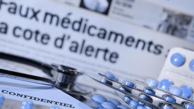 Alors que 1.000 dollars investis dans le trafic de drogue rapportent 20.000 dollars, le gain dans la contrefaçon de médicaments peut atteindre 200.000 à 500.000 euros. Image d'illustration -