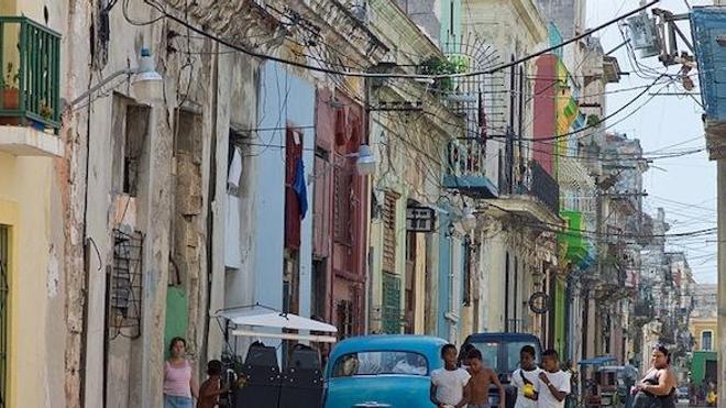 Une rue de La Havane, Cuba