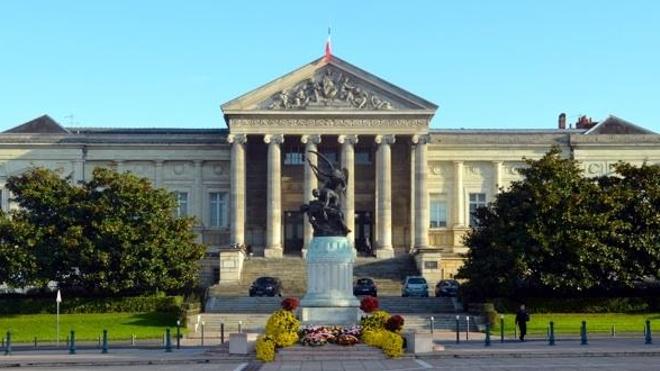 Le tribunal d'Angers (Maine-et-Loire)