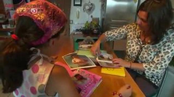 Rencontre avec Emma, 8 ans, atteinte d'un lymphangiome