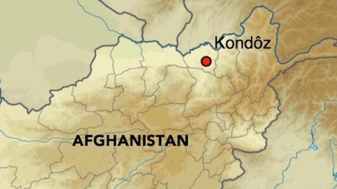 Localisation de Kondôz en Afghanistan (DR)