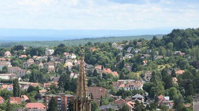 La commune de Thann, dans le Haut-Rhin (cc-by-sa Nicolas Sanchez)