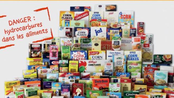 Les emballages cartonnés représenteraient un danger selon Foodwath. (Image ©Foodwatch)